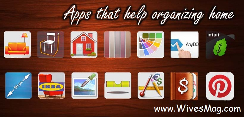 apps to organize home