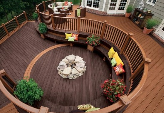 Decorate patio in beautiful way