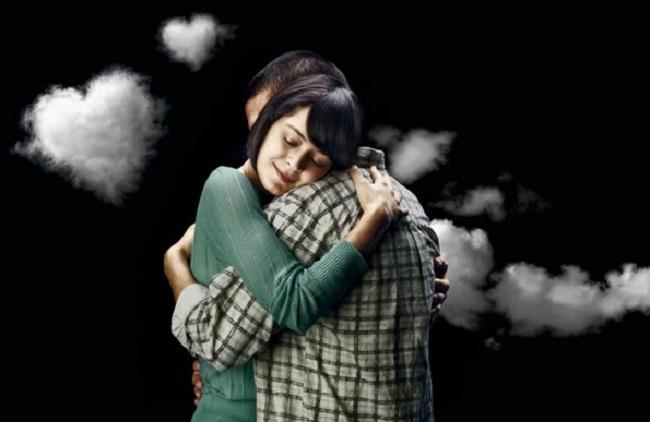 Hug loved ones in time of sorrow