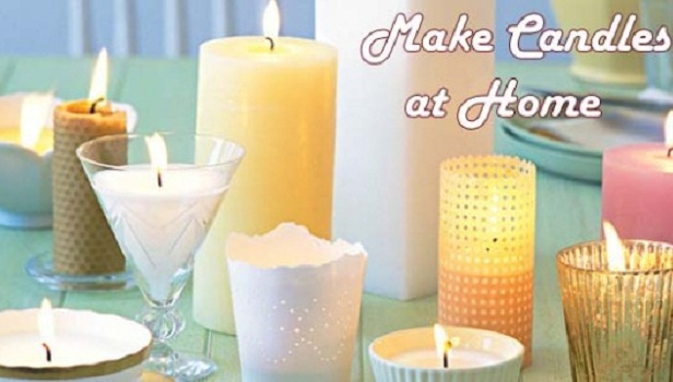 Make candles at home