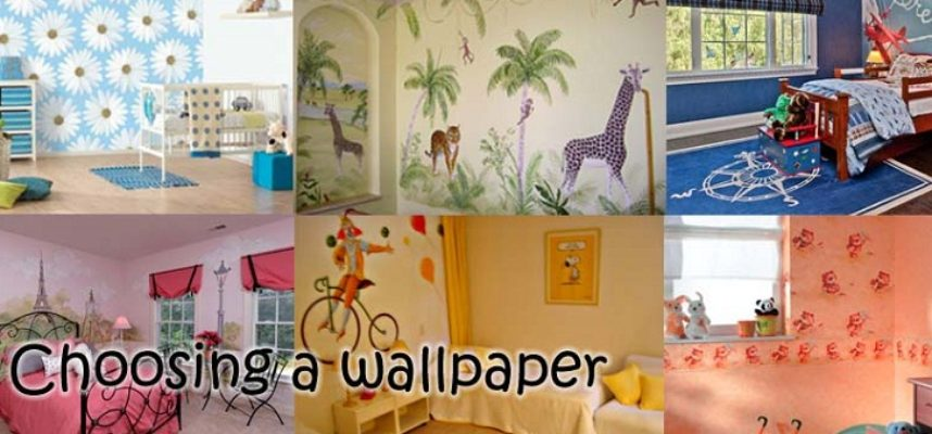 Wallpapers for children bedrooms