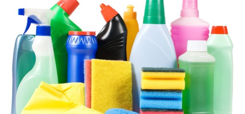 hazards of household cleaners