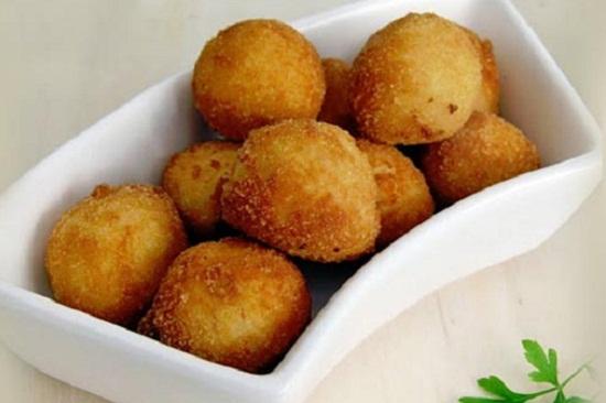 Golden Potato croquettes