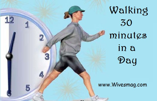 Walking 30 minutes a day
