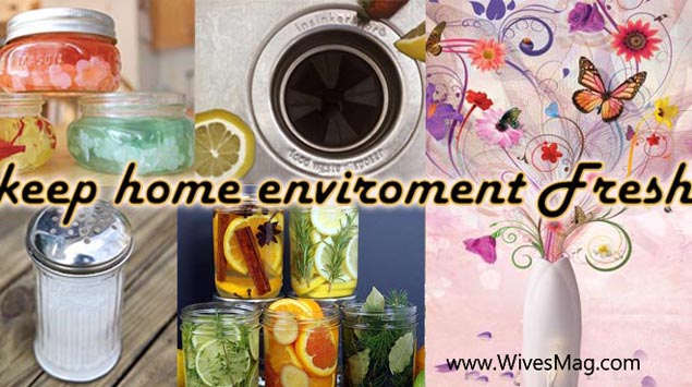 Keep home environment pleasant