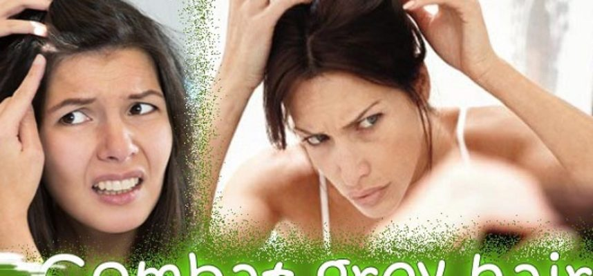fight grey hair by home remedies