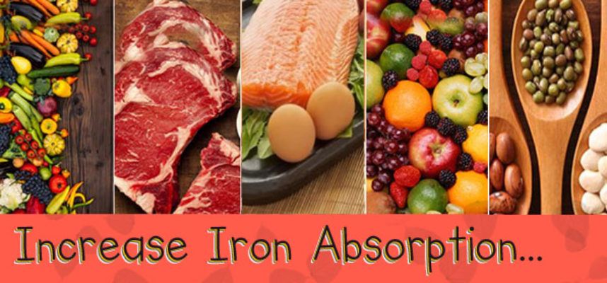 Increase Iron absorption