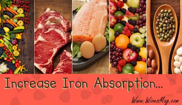 Increase Iron absorption