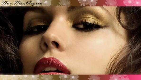 Golden eye_shadows
