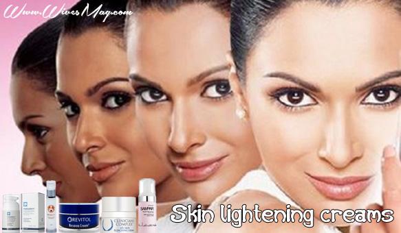 Skin lightening creams