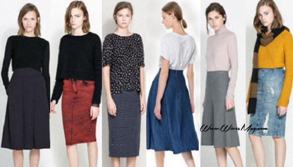 Skirts in winter