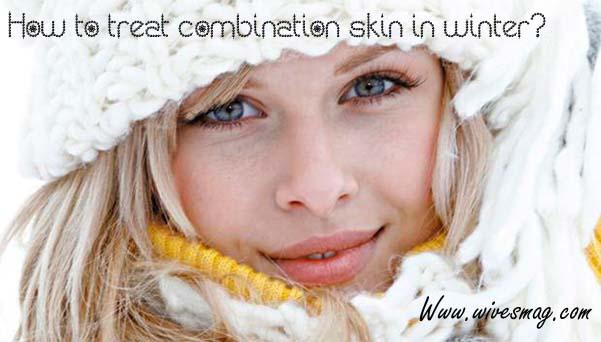 combination skin in winter