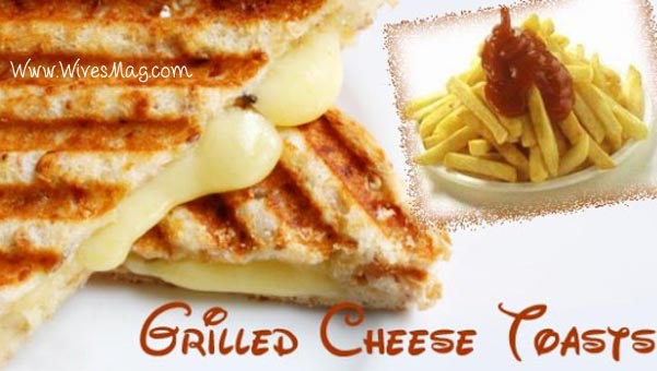 grilled cheese toasts