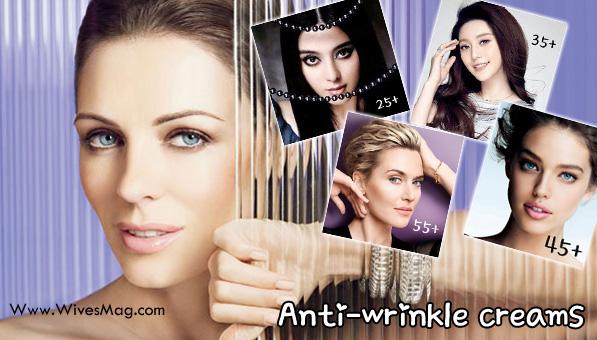 Anti wrinkle creams
