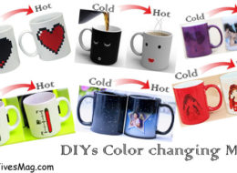 DIYs color changing coffee mugs