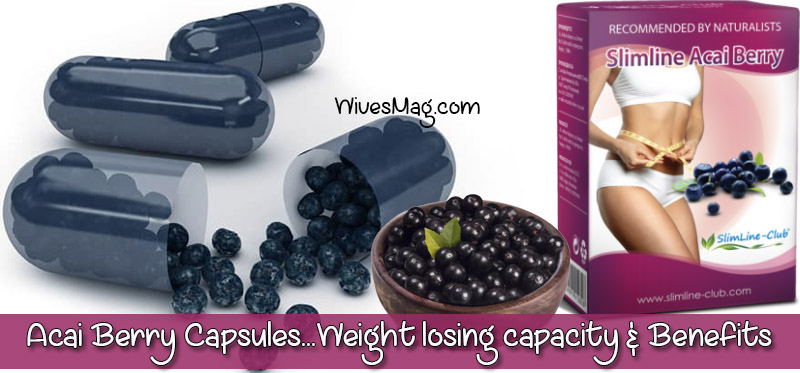 Acai berries are indeed the newest craze. While many consider them as magic since they're natural, some others believe that it has healing powers and helps you to not only lose weight but also stay healthy. These exotic berries are of the size of grapes and they can only be grown in Amazon. In the United States of America, the berries are available in many forms, such as juice and dietary supplements. Although the acai berries are a new interest among the health-conscious people, they can now be also found in the form of capsules and this form has been around for years. They are available in the market as Acai Berry Capsules. Read on to know more about the health benefits of such capsules made of acai berries. Acai Berry Capsules – Benefits &Weight losing capacity Read on to know more about the health benefits of such capsules made of acai berries. Checks the health of your heart: Similar to red wine, according to different research, it shows that acai berries are extremely high in anthocyanins, which is a form of plant antioxidant that is associated with the ability to lower cholesterol levels within the blood stream. These fruits are also rich in plant sterols that offer cardio-protective benefits to our cells. It does all these by preventing blood clots, thereby improving overall blood circulation and also by releasing the blood vessels. Helps in losing weight: Acai berries are known by nutritionists as a super-food. Acai berries may not only help us lose weight but it may also help us maintain a healthy weight. According to an interesting study from the National Institutes of Aging, it has been found out that the pulp from the acai berry has the capability to reduce all the negative effects of a high-fat diet in the laboratory studies on flies. Resistant to harmful organisms: Scientists from the Federal University of Rio de Janeiro shows that consuming acai capsules may help your body fight against harmful organisms. However, there are some other oil extracts fo