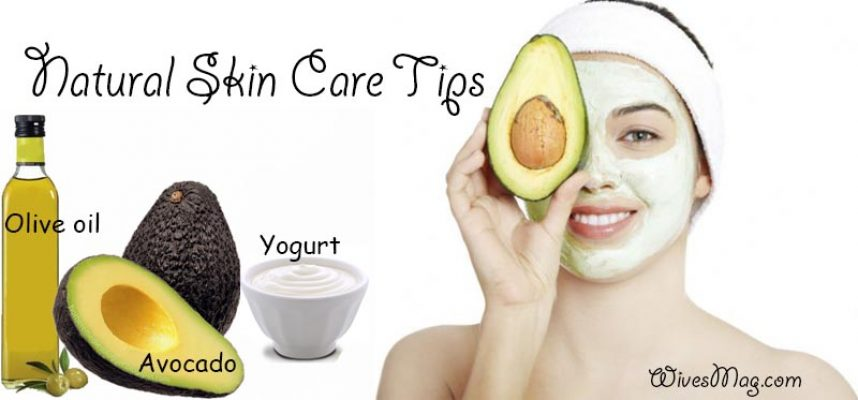 Natural Skin Care Tips With Avocado Face Mask