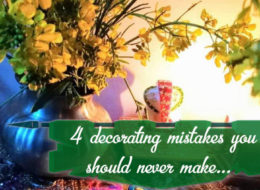 Four Decorating Mistakes