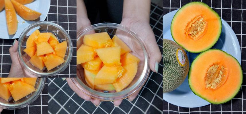 Melon, delicious, healthy seasonal fruit