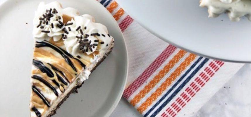 Mexican Peanut Butter Ice Cream Pie