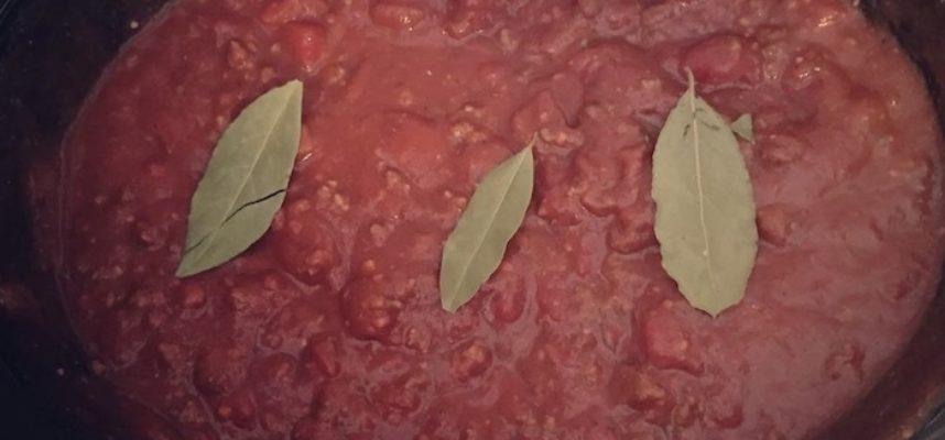 slowcooker spaghetti sauce